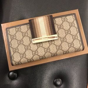 Sale!!! Pre-owned GUCCI long wallet